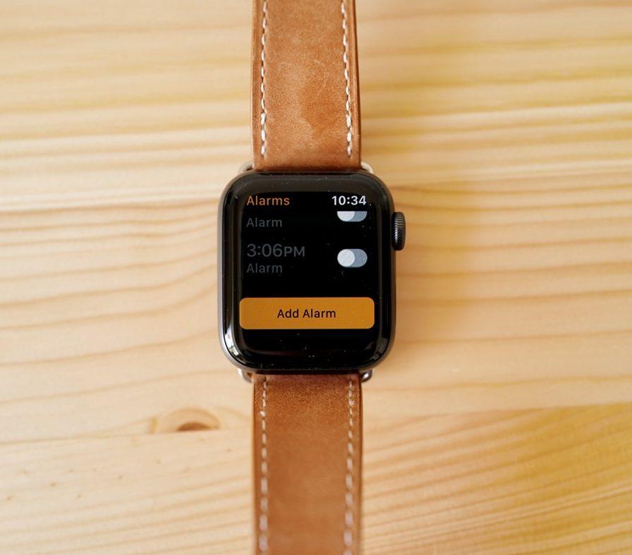 Apple Watch アラーム