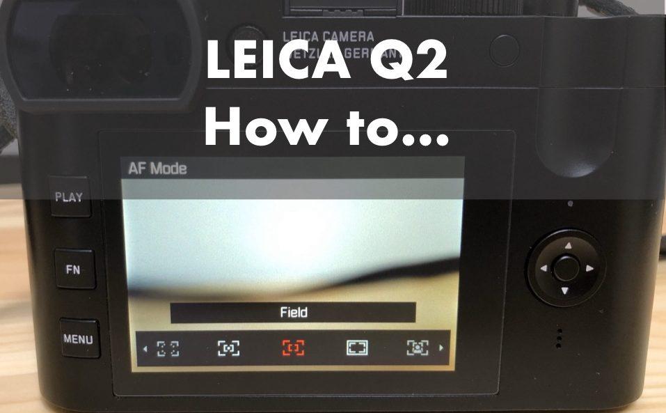 Leica Q2 子供を撮る設定
