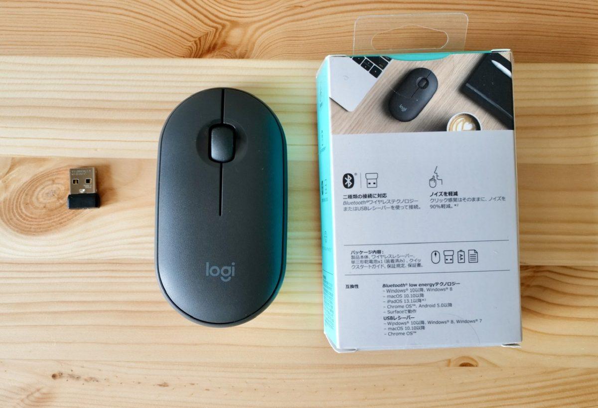 ロジクール マウス pebble m350