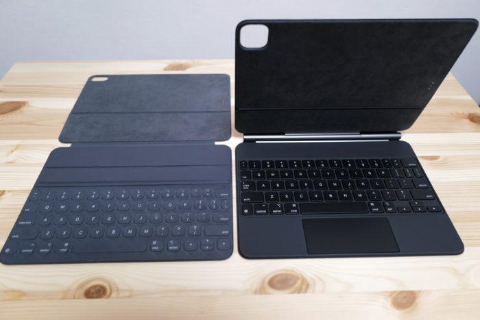 Magic keyboard Smart Keyboard folio 比較