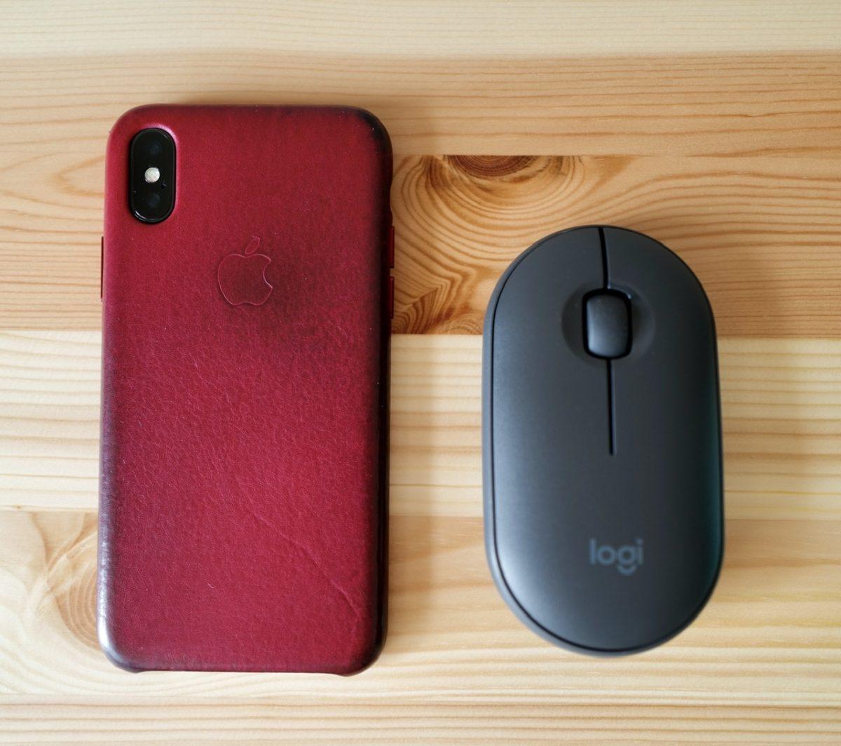 iPhone Xとロジクール m350