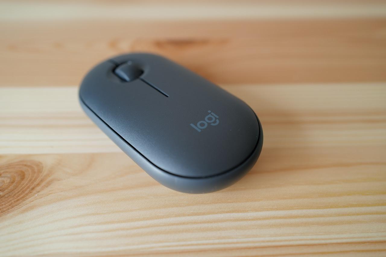 Logicool pebble m350 マウス 外観