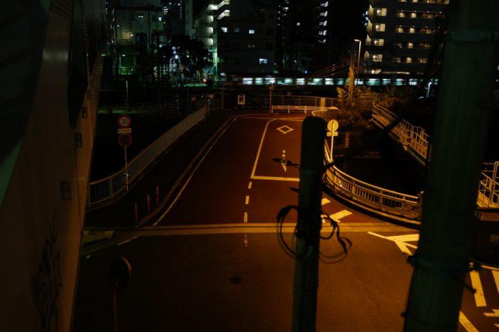 ライカQ2夜間の撮影