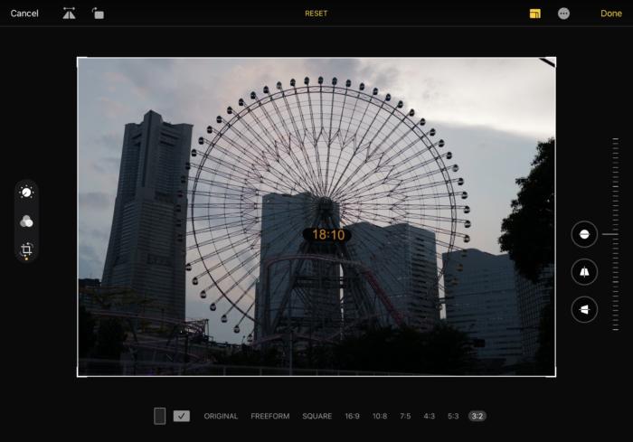 Leica Q2の写真をipadでクロップする方法