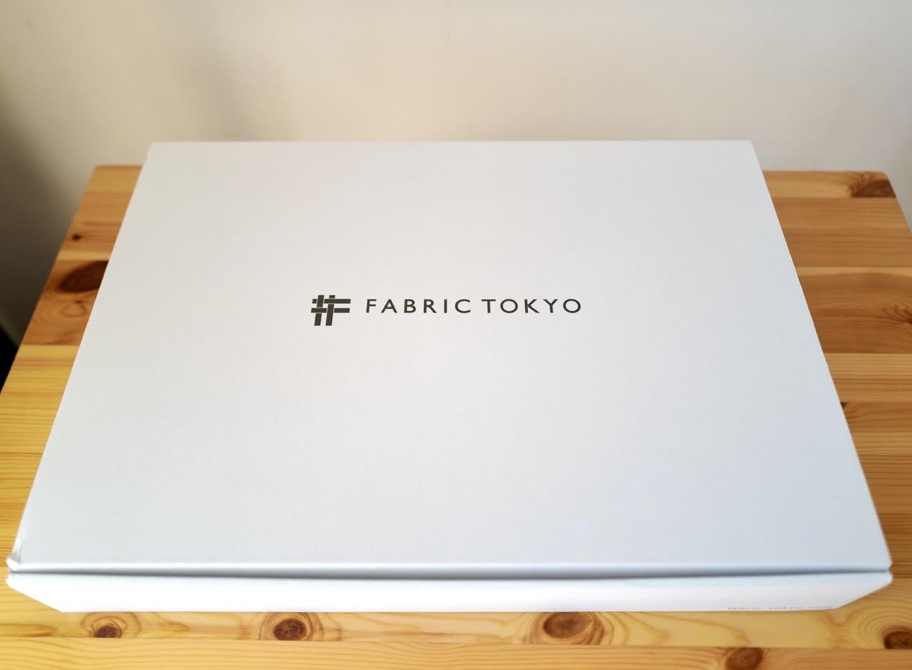 Fabric tokyo suit スーツ 箱