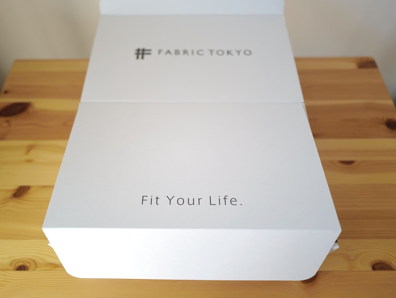 Fabric Tokyo 箱 Fit your life