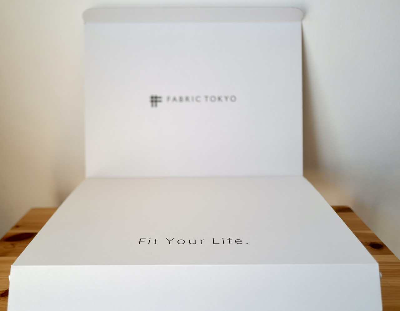 Fabric Tokyo Fit Your Life box