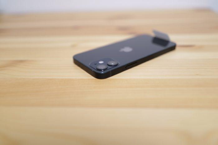 iPhone 12 mini エッジ部分