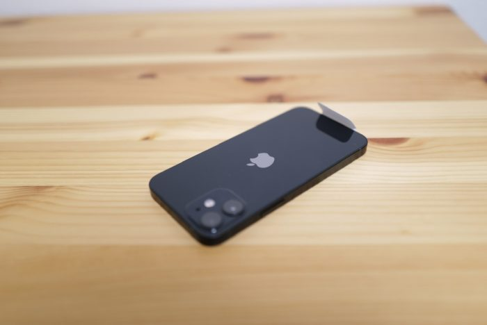 iPhone 12 mini Apple mark