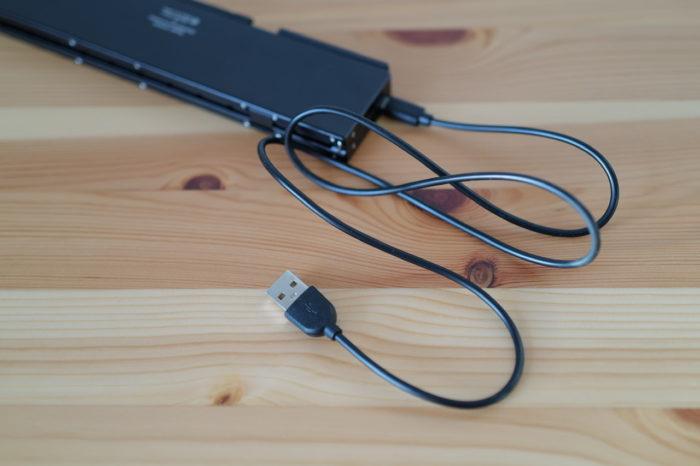 Plier プリエ 折りたたみキーボード 充電コード
