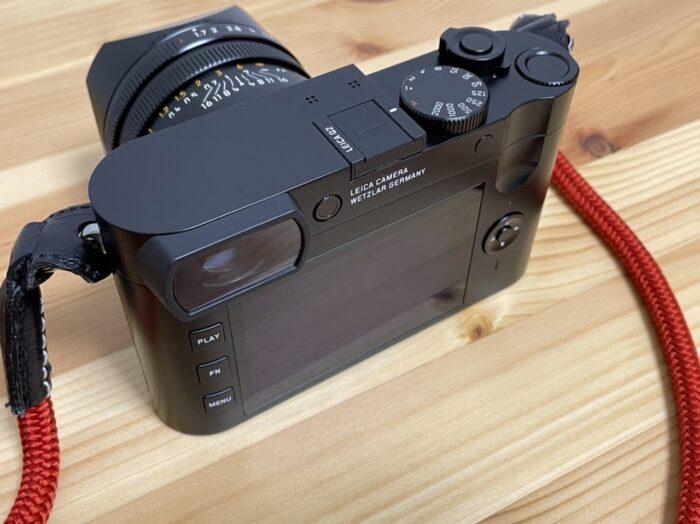 Leica Q2 液晶側