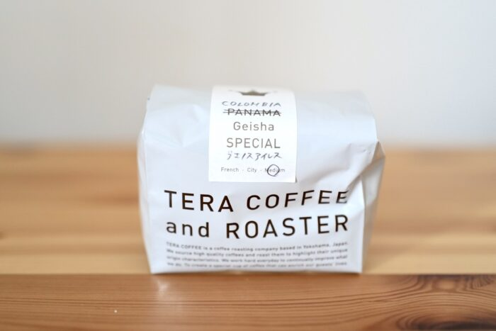 Tera coffee and roaster Geisha Special