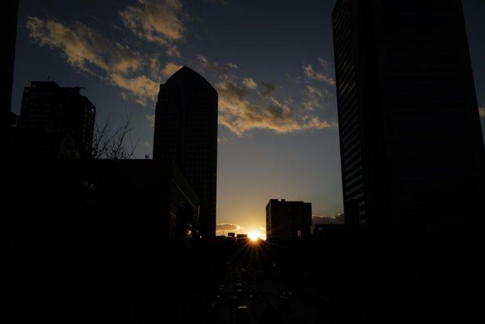 Leica Q2 みなとみらい 夕日