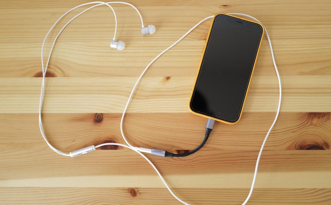 ヘッドセット アダプター iphone 12 mini