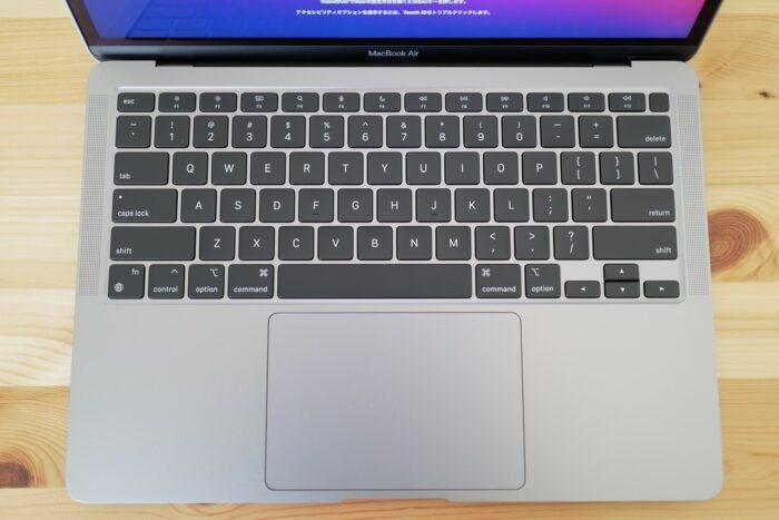 M1 MacBook Air キーボード
