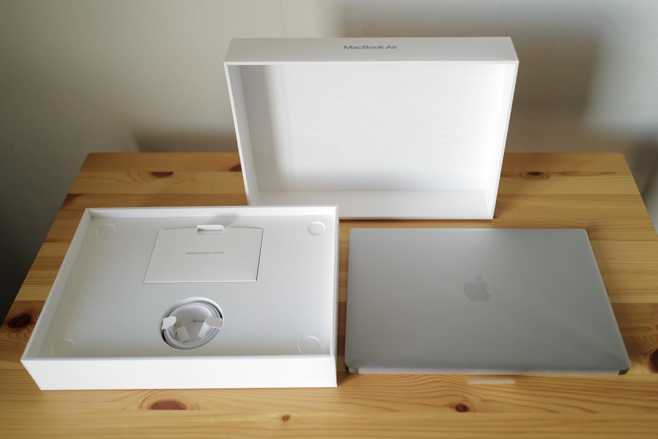 M1 MacBook Air 中身