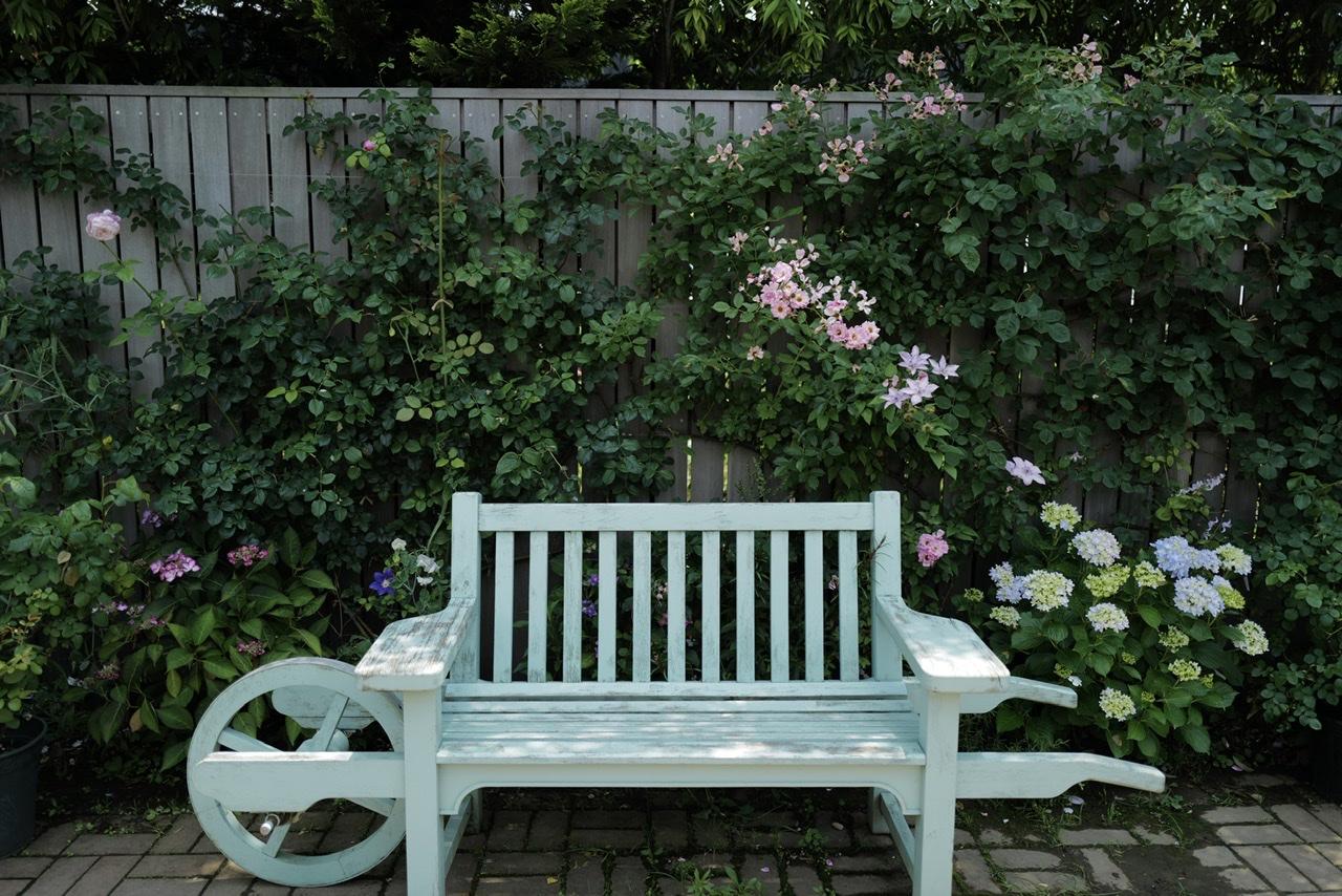 横浜イングリッシュガーデン 椅子