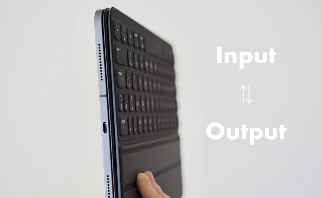 Input Output iPad