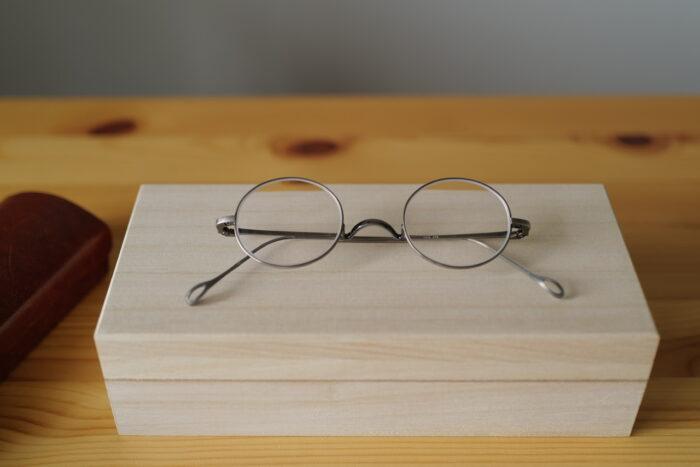 金子眼鏡店 T-416 ATS アンティークシルバー