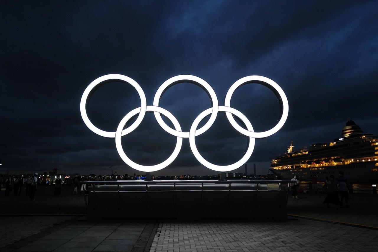 オリンピックオブジェ 横浜みなとみらい