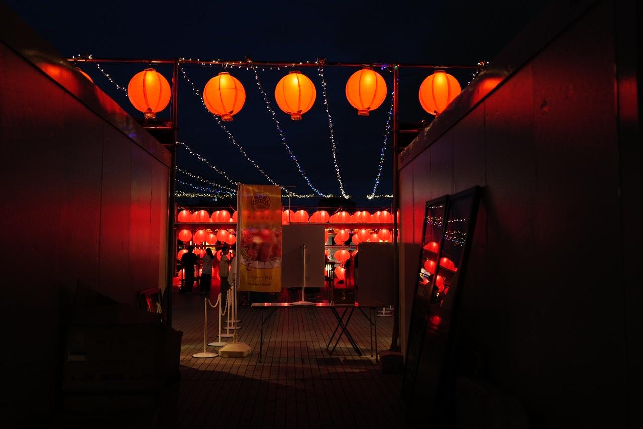 ちょうちん みなとみらい 台湾イベント 赤レンガ