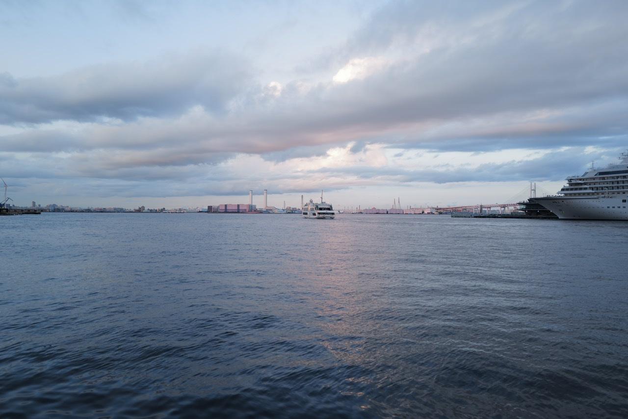 みなとみらい 海と船