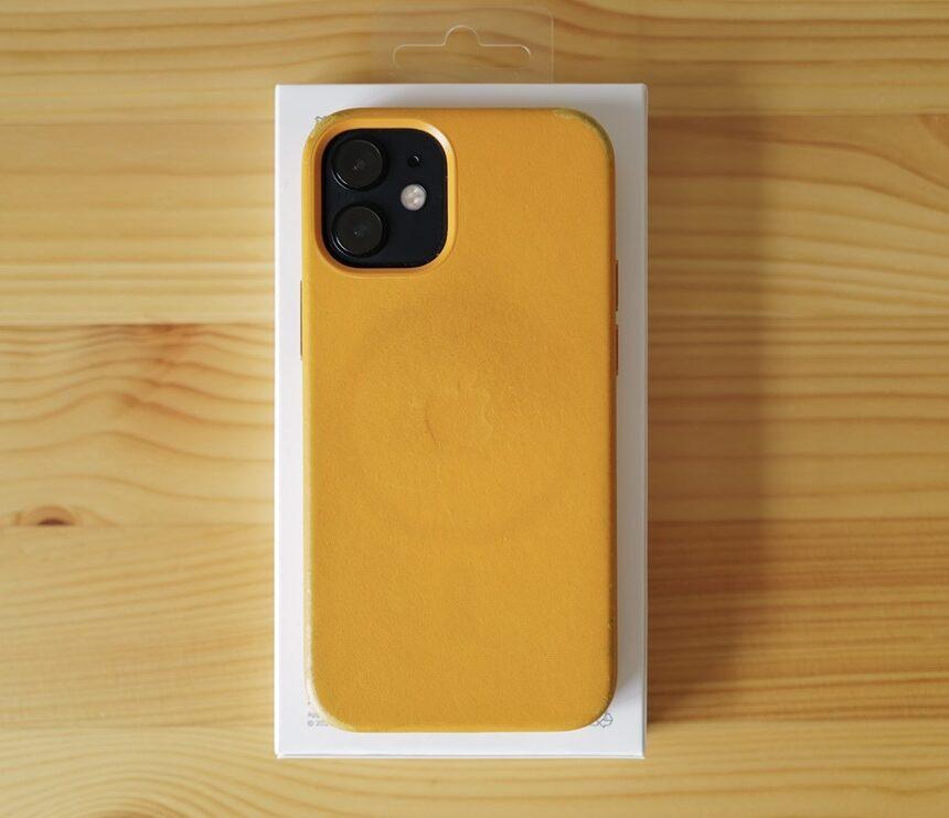 8ヶ月 iPhone 12 mini カリフォルニアポピーカリフォルニアポピー