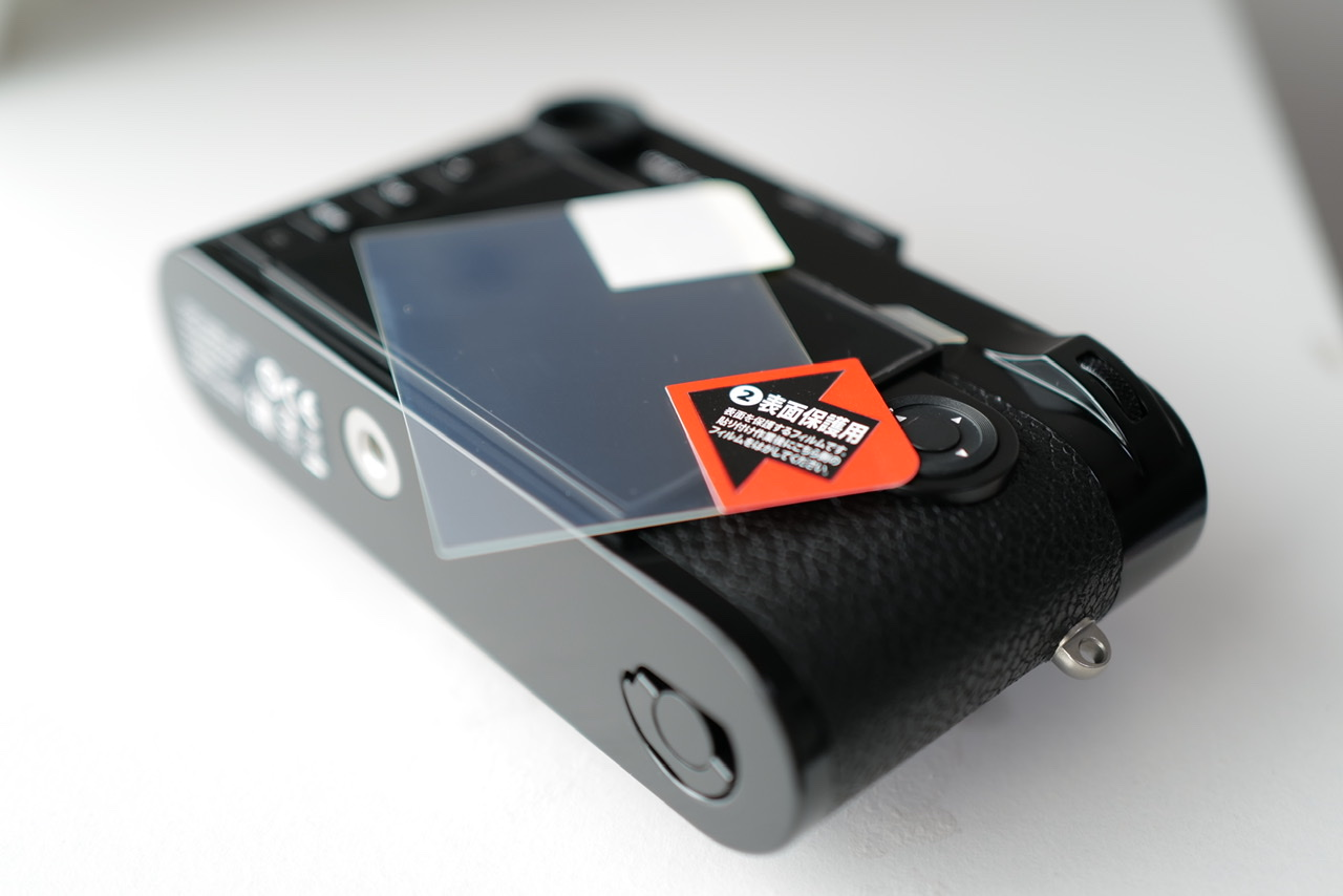 Leica M10-R black paint Film