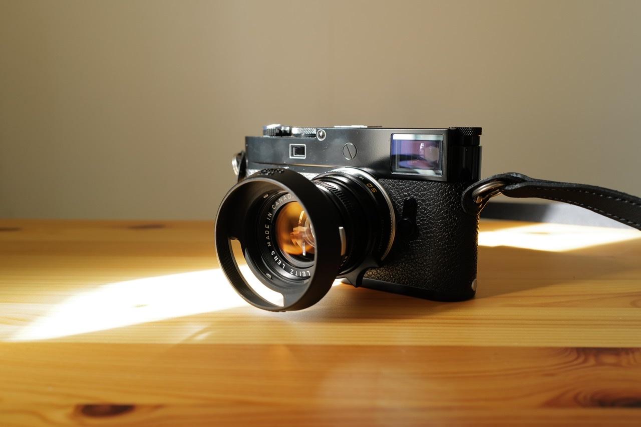Leica M10-R ブラックペイント 光