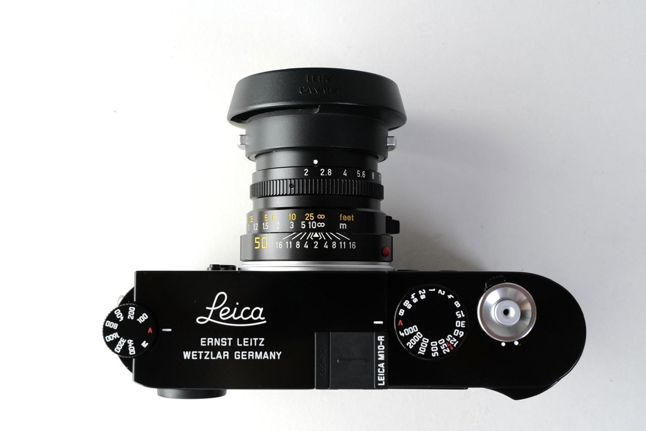 Leica M10-R black paintとSummicron M f2/50mm 3rd