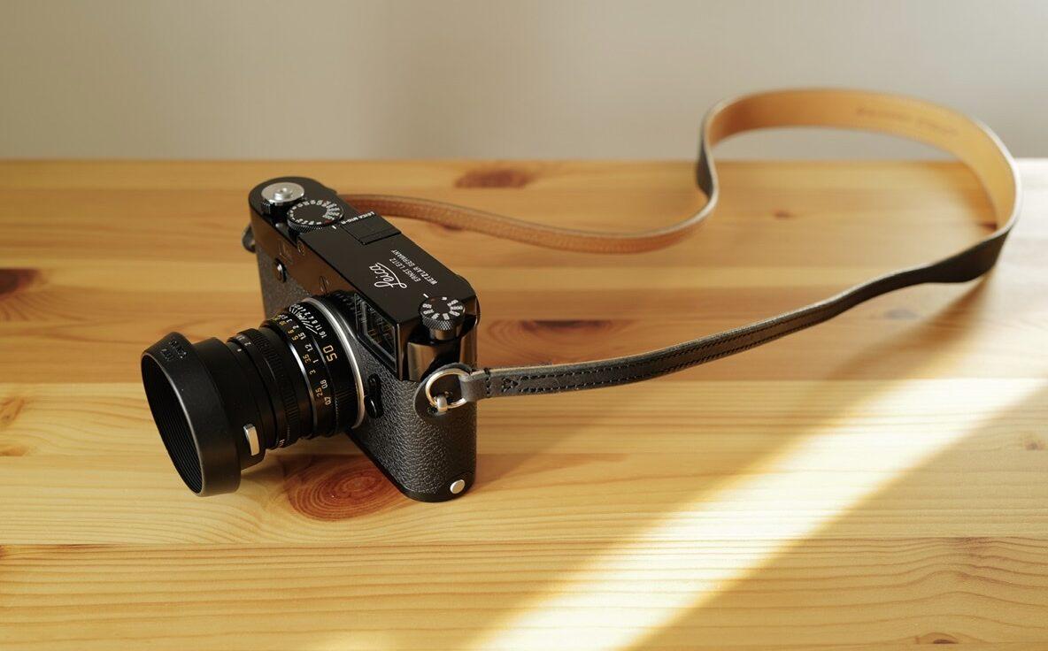 Ulysses Strap Leica M10-R Black Paint